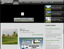 Tablet Preview of brooksgolfclub.ca